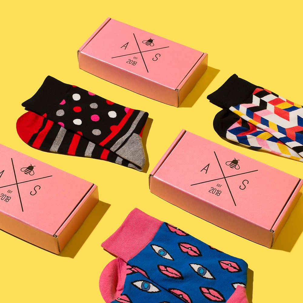 Audacious Sock Custom Packaging