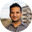 Ashkay Gupta, CEO & Founder of Evabot