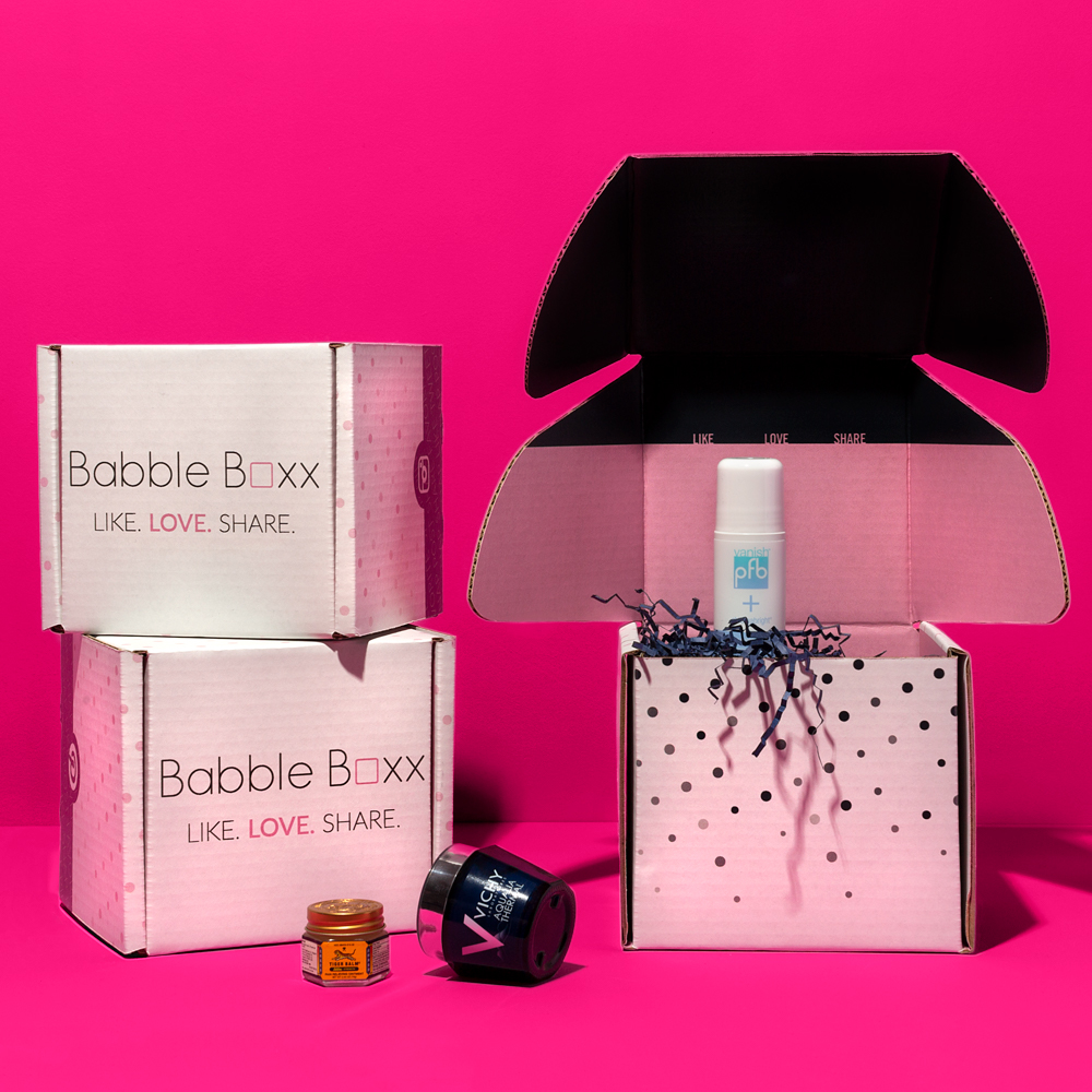 Babble Box Custom Packaging